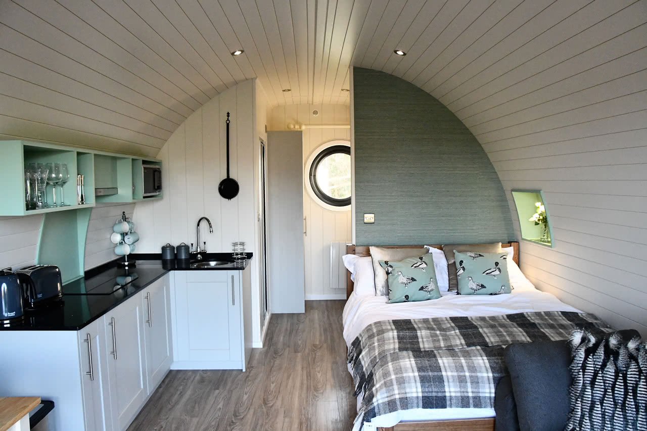 Luxury Camping Pods For Glamping Holidays In Yorkshire