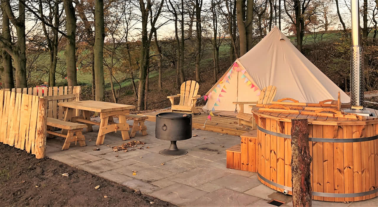 Bell Tent Glamping In Yorkshire Camping In Style With